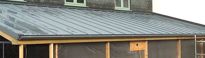 New Brazilian Slate To Main House With Vieo Zinc To Low