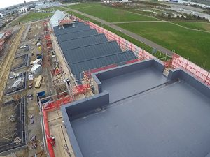 Marnick Roofing Cornwall - Single Ply PVC membrane Fibre cement