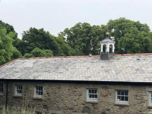Re-roof Grade 2 listed Coach House nr Truro